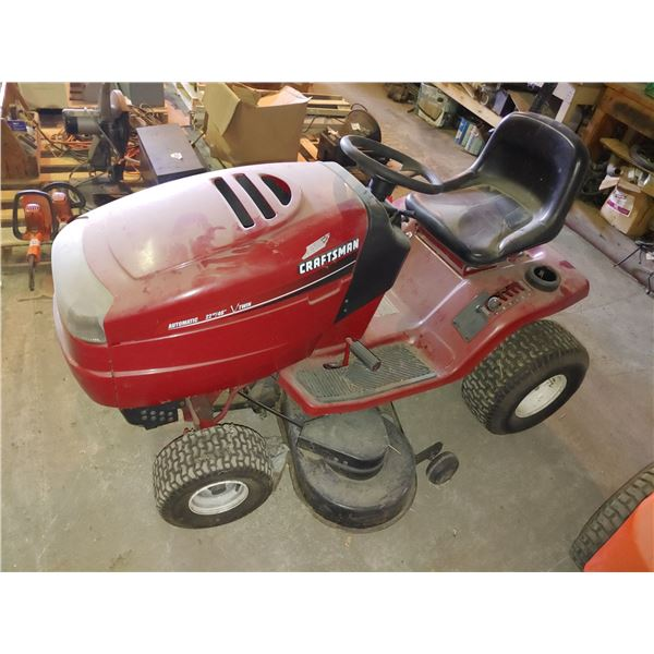 """Craftsman 46"""" Lawn Tractor V Twin"""