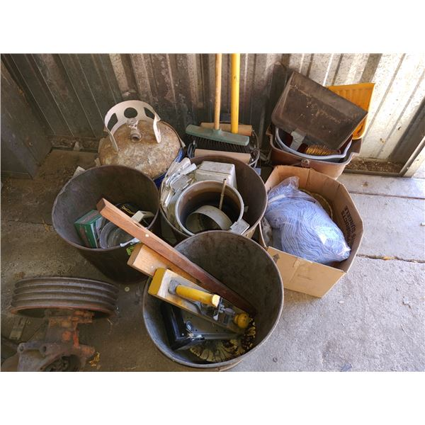 Lot of Misc. Items Including Cleaning Supplies