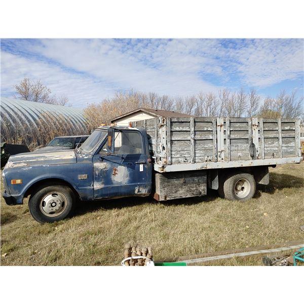 1968 GMC 1 Ton Grain Truck C9e33911c8199