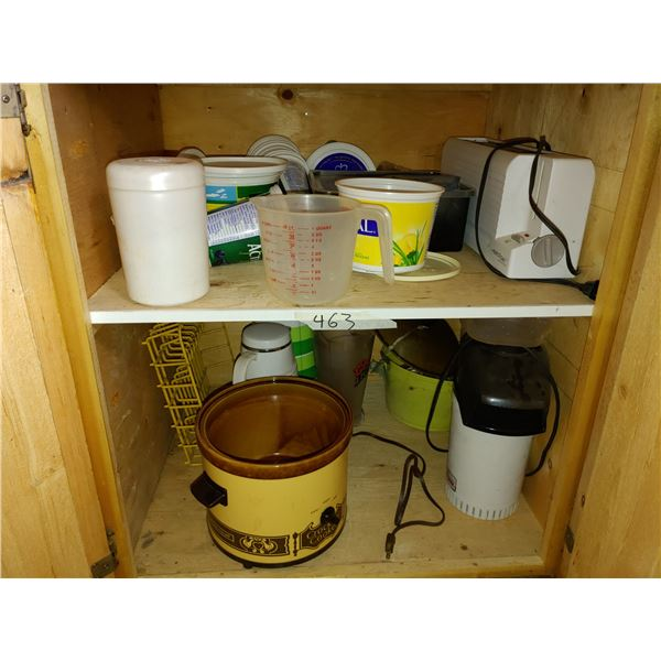 Cupboard of Contents, Includes some Small Appliances