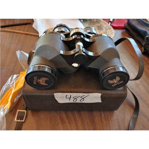 Set of Taylor Binoculars In Case