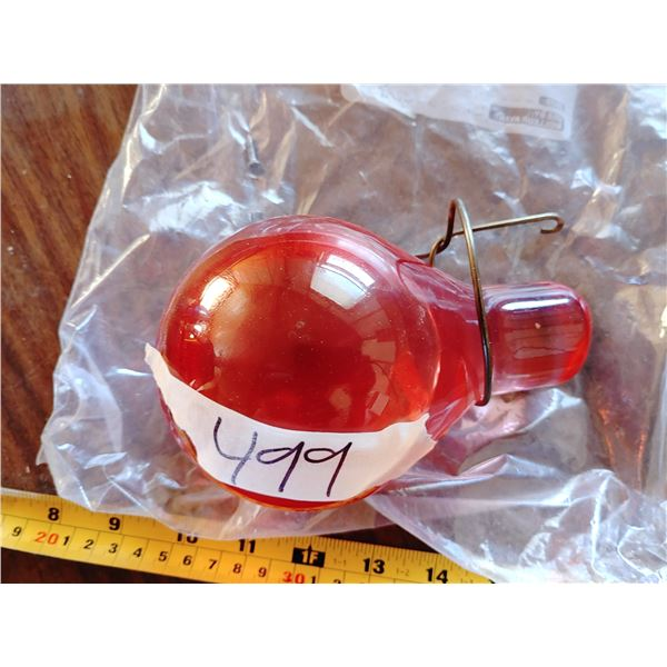 """Glass Grenade Style Fire Extinguisher """"Bomb"""""""