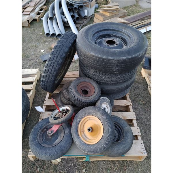 Lot of Misc. Tires and Rims