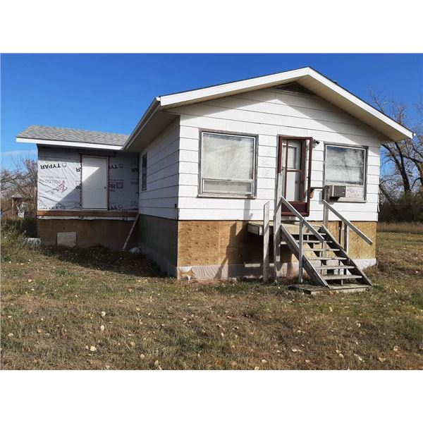Approx 900 sq ft house with addition plus basement on 37.9 acres