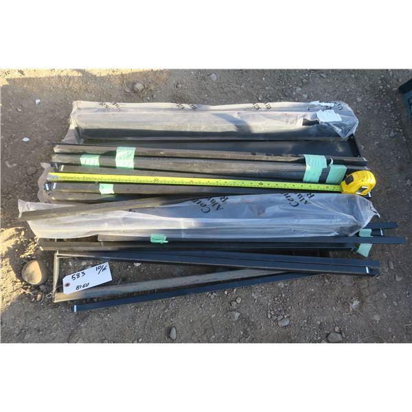 3ft Black Railing Pieces