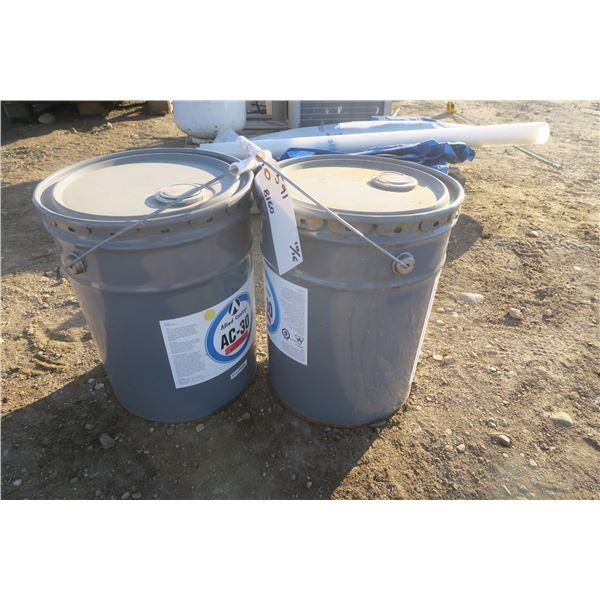 2 Pails of AC-30 Silane Sealer for Concrete, Decks ETC