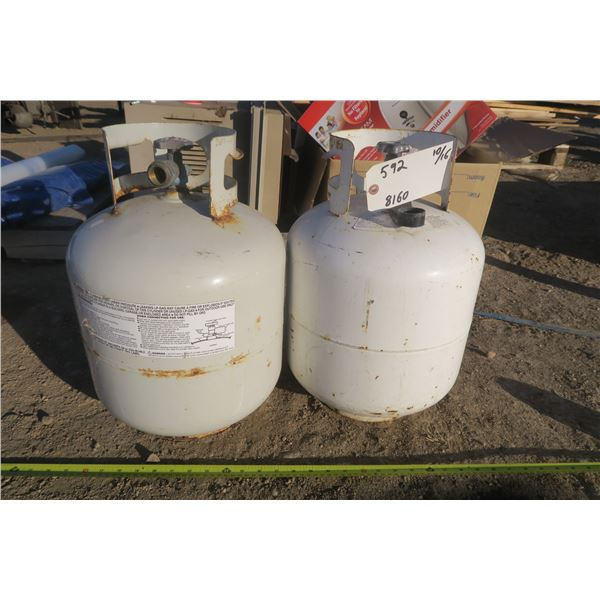 2 Propane Tanks (partially filled but may need inspections)