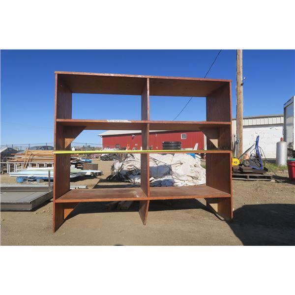 4 Shelf (Stacked) Storage Shelving 73 X 24.5