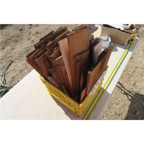 Crate of Cedar Shake / Shims