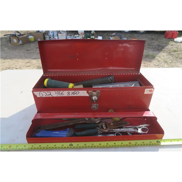 Small Toolbox + Contents