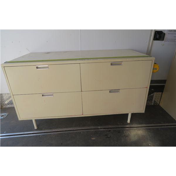 48 x 23 1/2 4 Drawer Filing / Storage Cabinet
