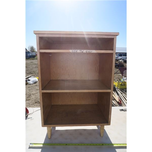 Antique Wooden Shelf Missing Drawer 23 1/2 X 15 1/2