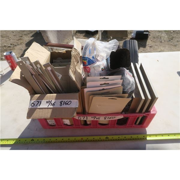 Crate Including House Numbers, Downspouts, Timer, and More!