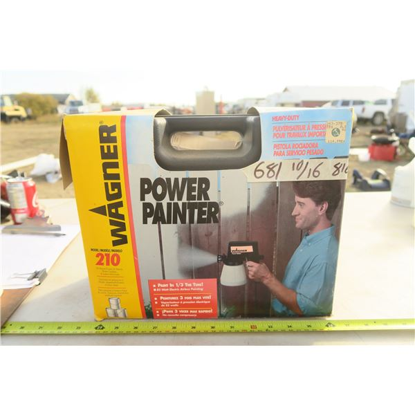 Wagner Power Painter 210 In Box