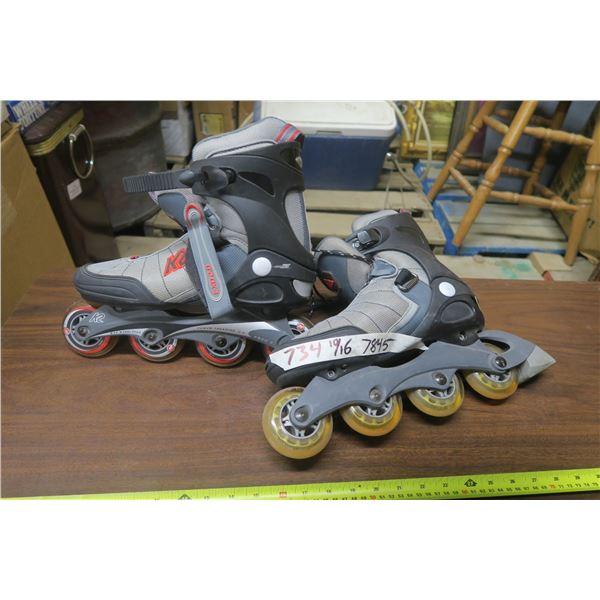 EXO 2.0 Roller Blades Size 10