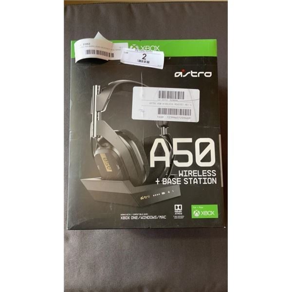 ASTRO 150 WIRELESS HEADSET AND BASE STATION - FOR XBOX ONE, PC, WORKING
