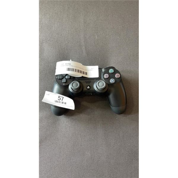 SONY PS4 WIRELESS CONTROLLER BLACK - WORKING