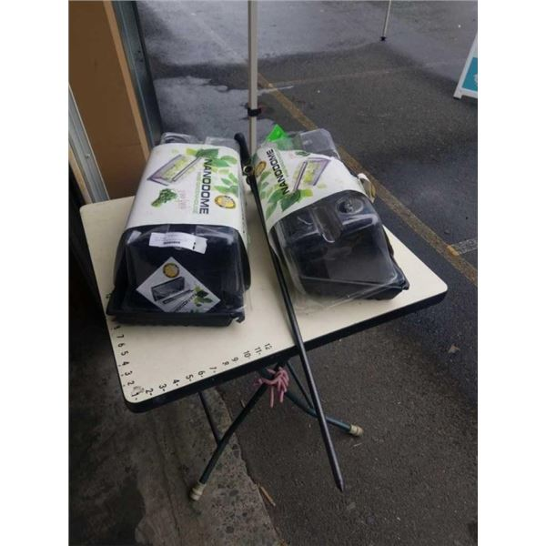 FREIGHT DAMAGED MINI GREEN HOUSES AND YARD BUTLER WATER INJECTOR