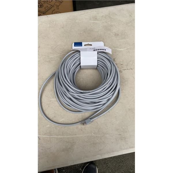 AS NEW INSIGNIA CAT-6 NETWORK CABLE 100 FOOT