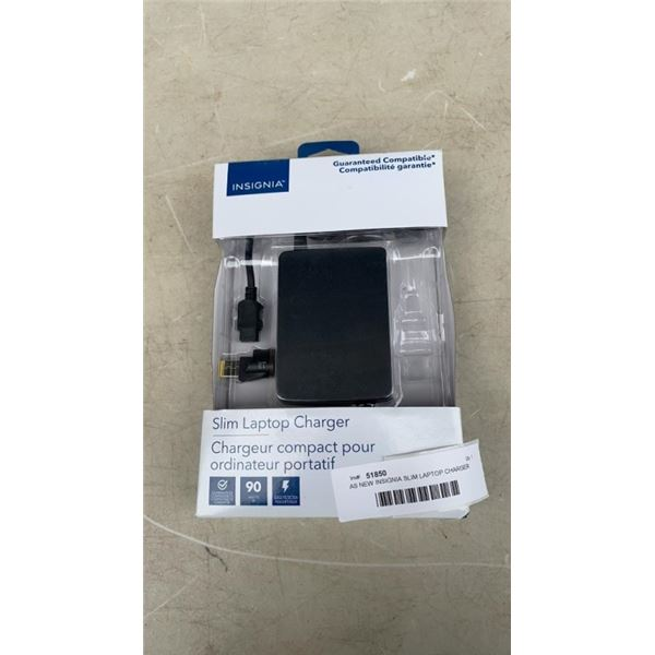 AS NEW INSIGNIA SLIM LAPTOP CHARGER