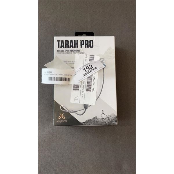 JAYBIRD TARAH PRO WIRELESS SPORT HEADPHONES - WORKING