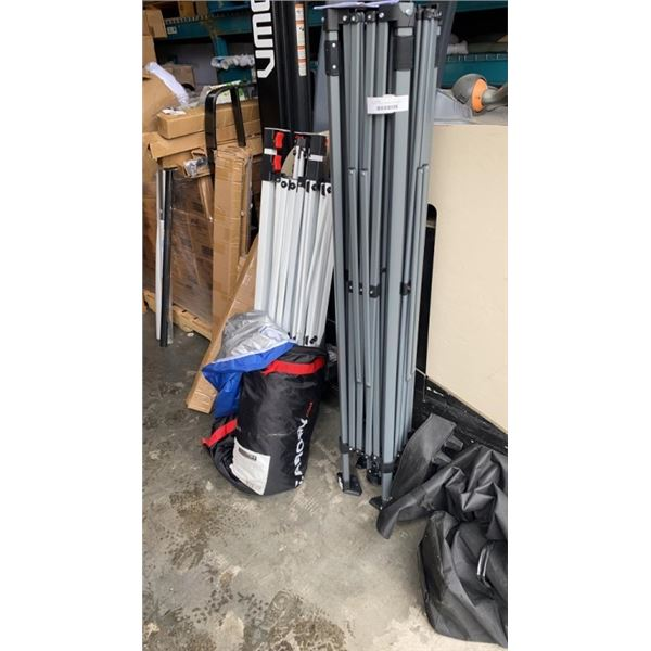 2 PARTS CANOPY FRAMES WITH COVERS