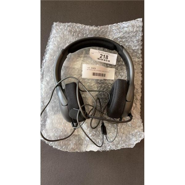 AFTERGLOW L40 WIRED GAMING HEADSET - WORKING, PS4, PC