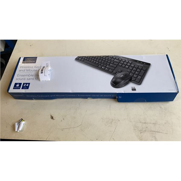 NEW INSIGNIA  WIRELESS KEYBOARD AND MOUSE COMBO 2.4G