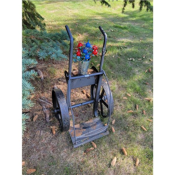Big Wheeled Dolly with Flowers