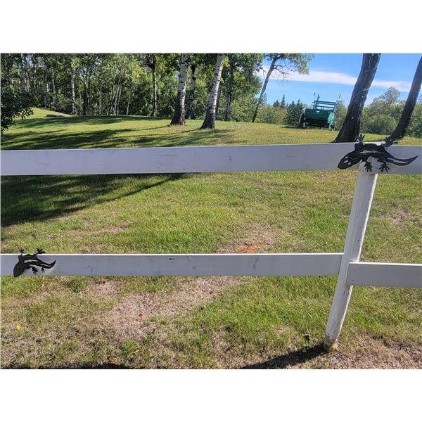 Metal Art - 2 Geckos