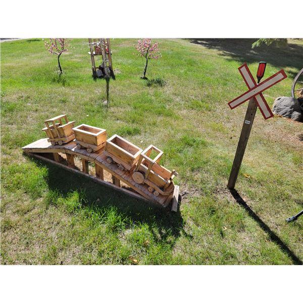 Wooden Train - 2' Moose