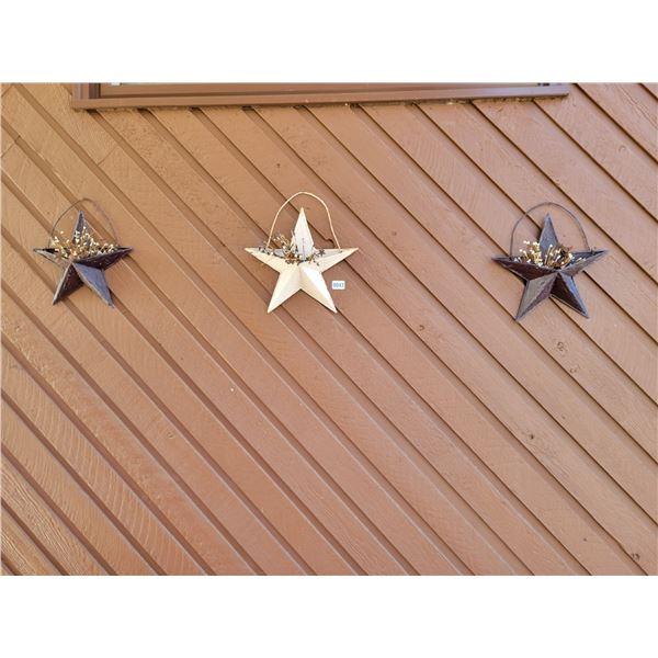 3 Metal Stars