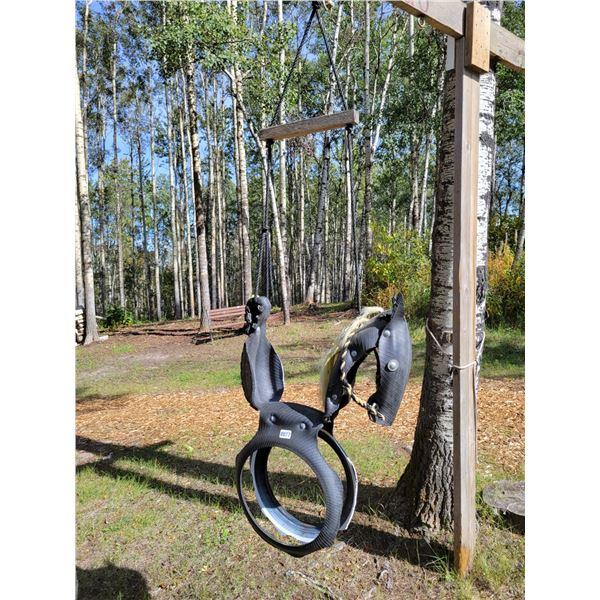 Childrens Horse Swing