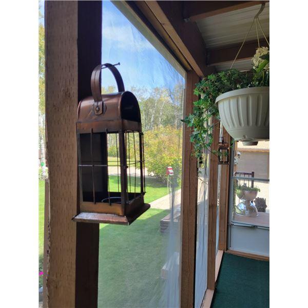 Floor Lantern - Hummingbird Windmill - Assorted D'cor