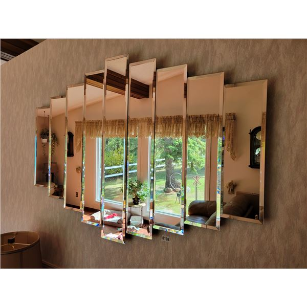 Large Sectioned Mirror