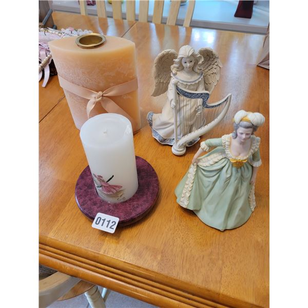 Candles - Angel Music Box - Maria Antoinette Doll