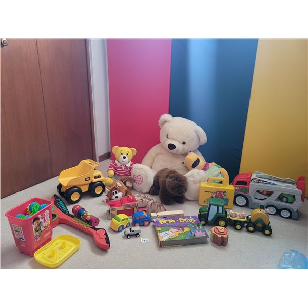 Assorted Toys - Book - Stuffed Animals
