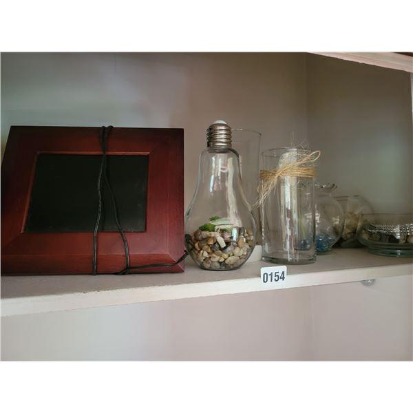 Electric Photo Frame - Decorative Glassware