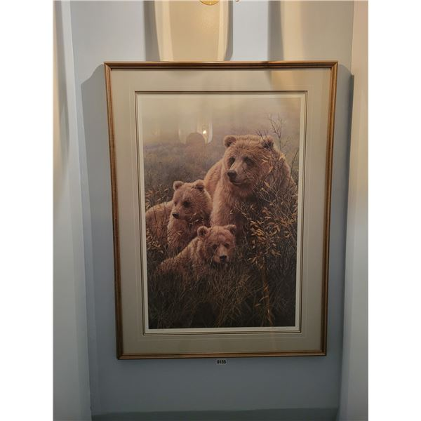 3 Grizzly Bear Print by Seerey Lester 91