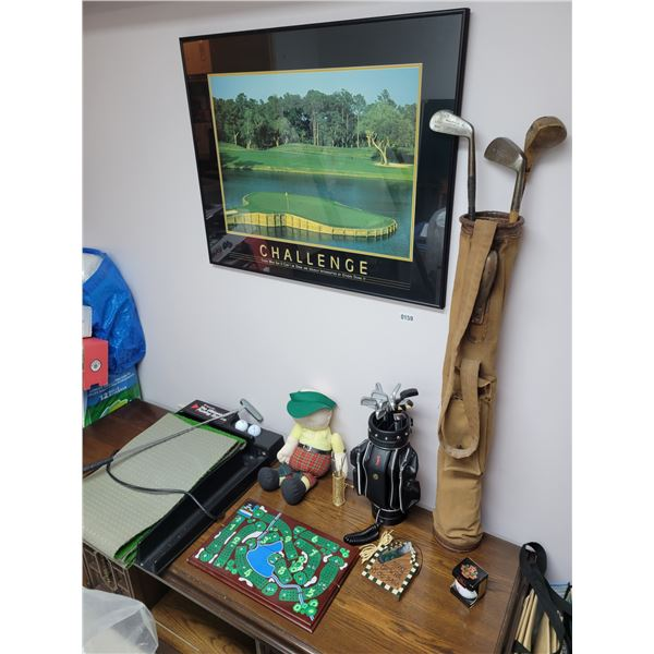 Golf Enthusiasts - Phone - Vintage Clubs - Picture - Ultimate Putting System