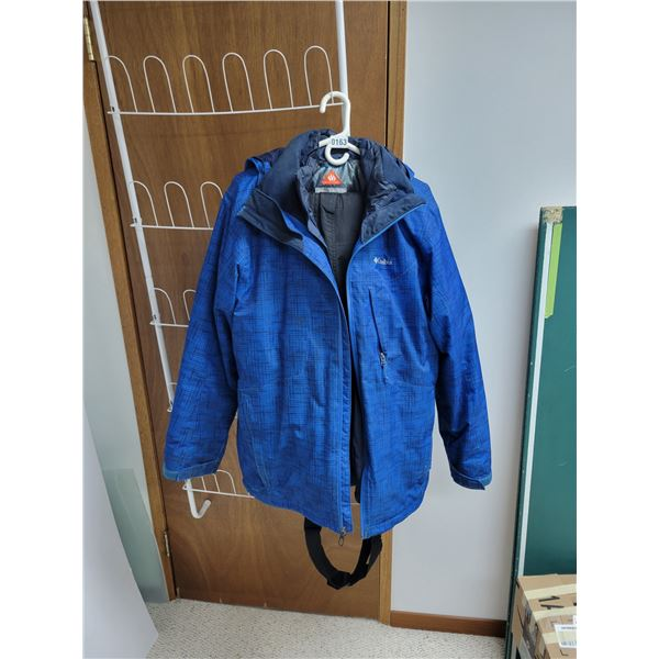 Columbia Blue Jacket with Liner & Snowpants
