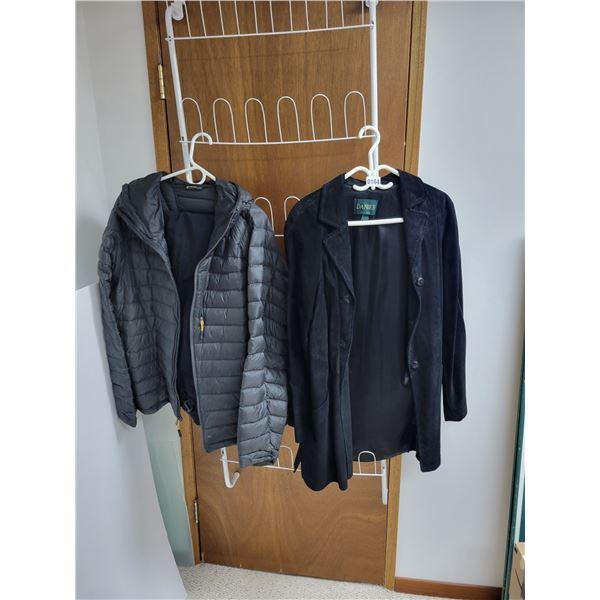 Hardland Jacket & Snowpants - Danier Suede Jacket