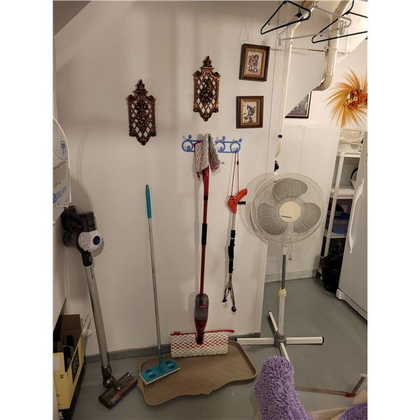 Dyson Vacuum - Fan - Swiffer - Wall Art