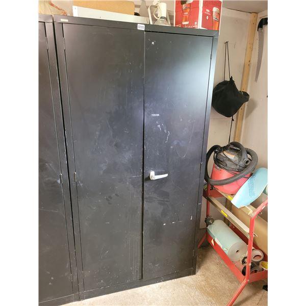 2 Door Locker & 3 Door School Locker with Contents