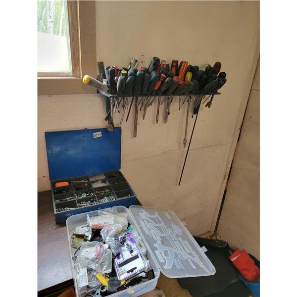 Assorted Screwdrivers - Hardware