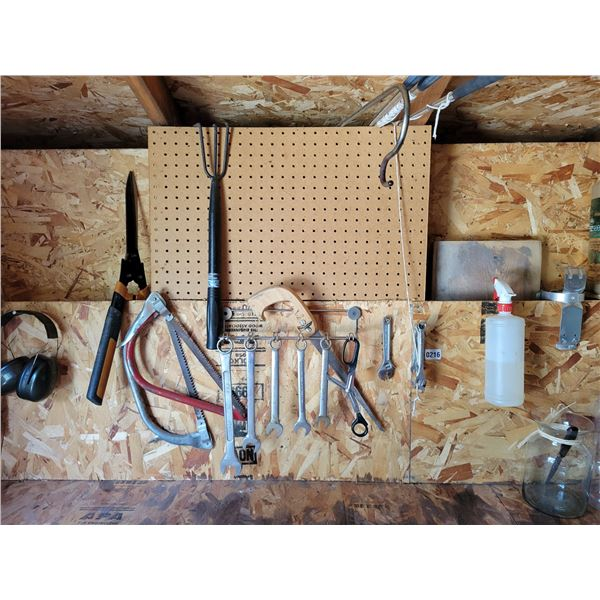 Assorted Wrenches & Extension Cords