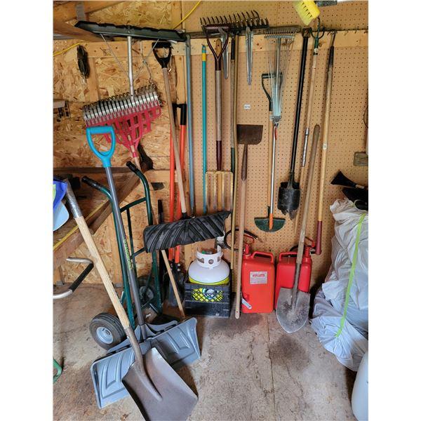 Assorted Yard Tools