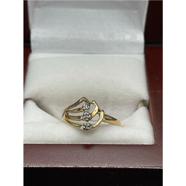 10K 2.3g Diamond Ring