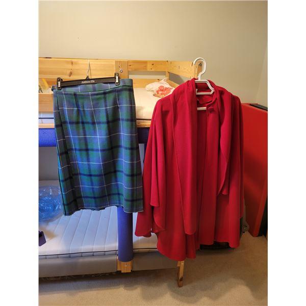 Scottish Wool Kilt & Cashmere Jacket