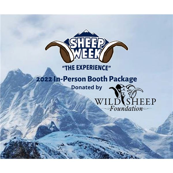 2022 In-Person Exhibitor Booth Donation - Sheep Show
